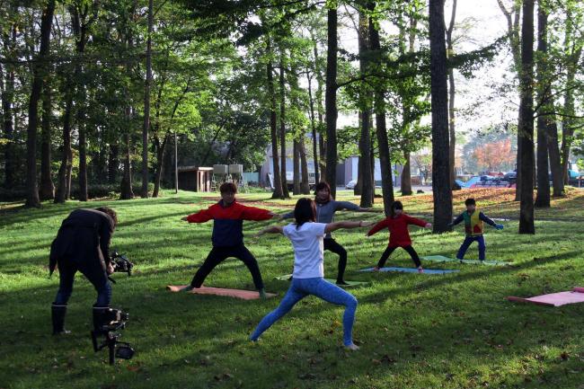 「野遊び」試行ツアー、家族で体験 芽室