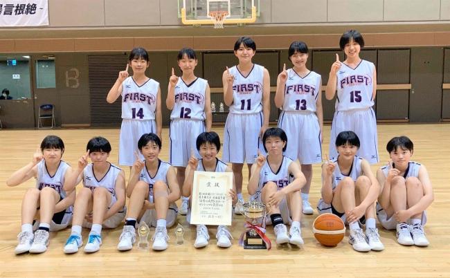 帯一女子初優勝全国へ、帯西陵男子は3位健闘 ジュニアウインターカップU15バスケ道予選