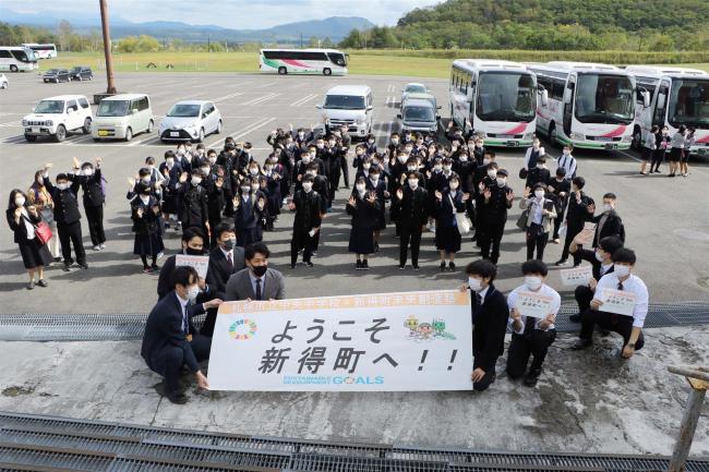 札幌の修学旅行生と交流 新得の未来創造塾