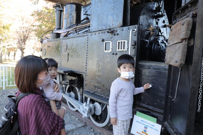 かつての鉄道の景色に思いをはせる 市文化財の鉄道車両を特別公開