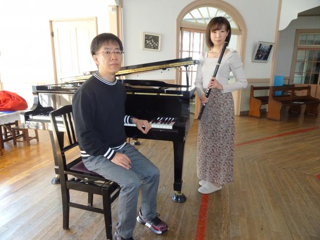 美しい音色聴いて 11月にピアノとフルートのデュオリサイタル 帯広