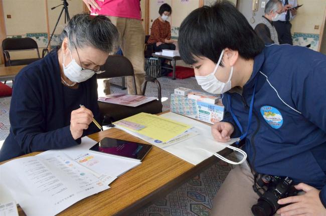 ICT活用で介護予防の有効性を検証 池田
