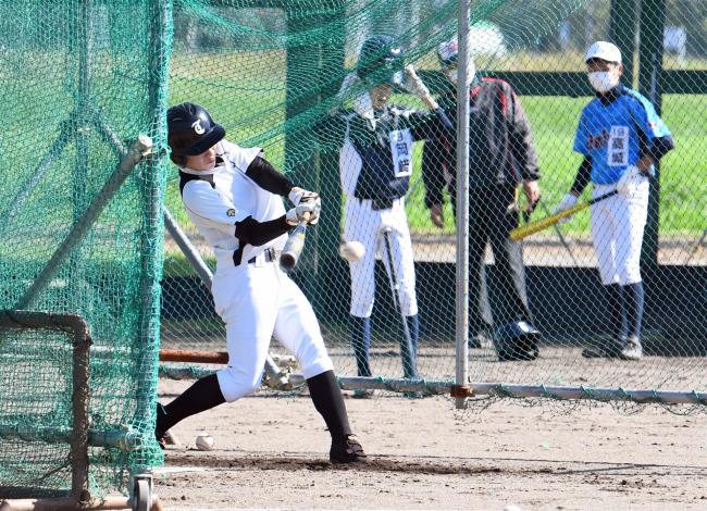 十勝ベースボールスクール20年目、高校野球での活躍目指し中3生69人が硬式に挑戦