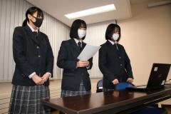 公民館講座「渋沢栄一とドラッカー」 高校生7人が発表 清水 2