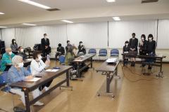公民館講座「渋沢栄一とドラッカー」 高校生7人が発表 清水 3