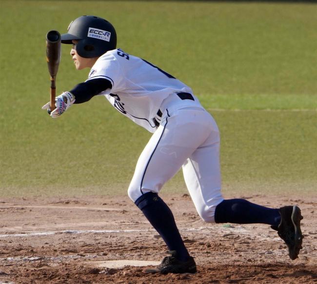 広尾出身の志村 初戦2打点の活躍 全日本女子硬式クラブ野球