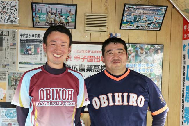 帯農高野球部、前田監督勇退 新監督に西川副部長
