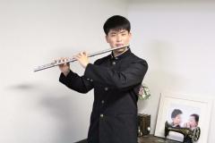 中学生「日本一」に続き、国際的なフルート奏者たちから評価された豊田さん