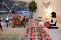 トムラウシ温泉のグランピングが人気 新得 4