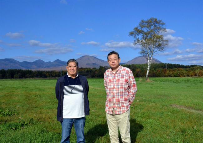 鹿追拠点に映画制作会社設立 町出身のプロデューサー須永さんと監督の藤さん