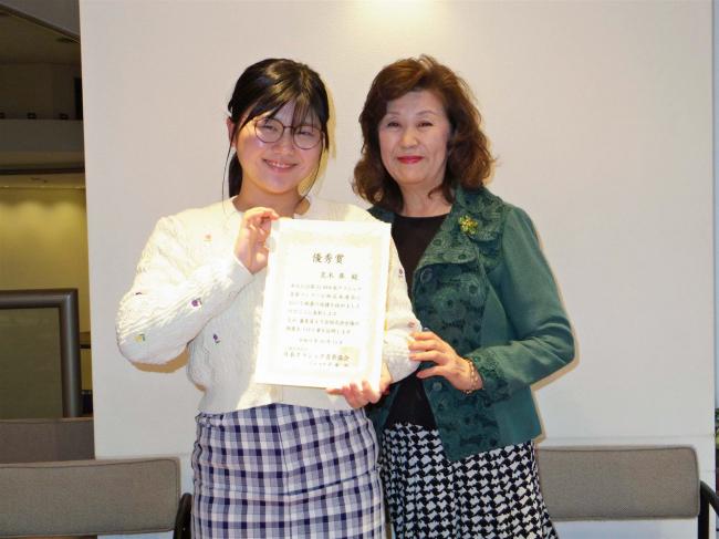 十勝初の快挙 帯広翔陽中2年荒木さんが日本クラシックコン声楽部門で全国へ
