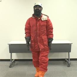 南極での服装