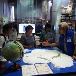 以前訪れた国立極地研究所に併設されている南極・北極科学館
