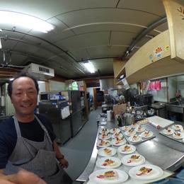南極昭和基地の管理棟厨房