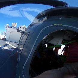 南極観測船「しらせ」の搭載ヘリコプター
