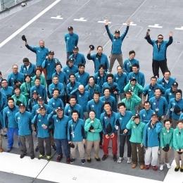 第57次南極地域観測隊隊員