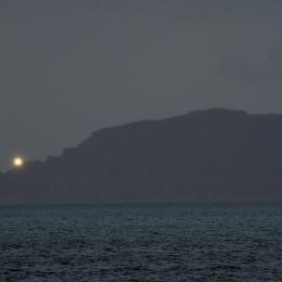 喜望峰の灯台の光