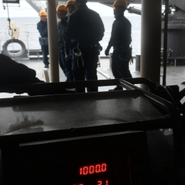 ワイヤ繰り出し長はちょうど1000メートル