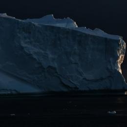 モーソン沖の氷山2