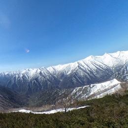伏美岳山頂360°VIEW