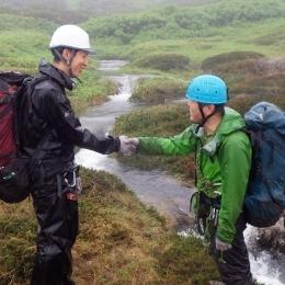 トムラウシ山。7月28日10時半ころ、標高750メートル付近