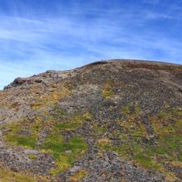 旭岳山頂。