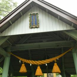 登山口の剣山神社